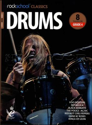Rockschool Classics Drums Grade 4 Book/Audio