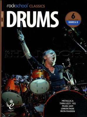 Rockschool Classics Drums Grade 6-8 Book/Audio