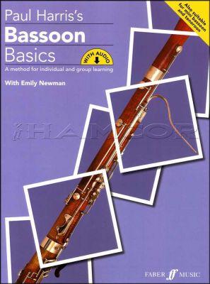 Paul Harris Bassoon Basics Book/Audio