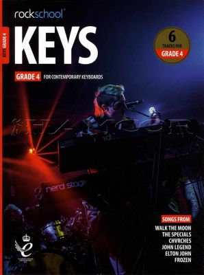 Rockschool Keys Grade 4 Book/Audio