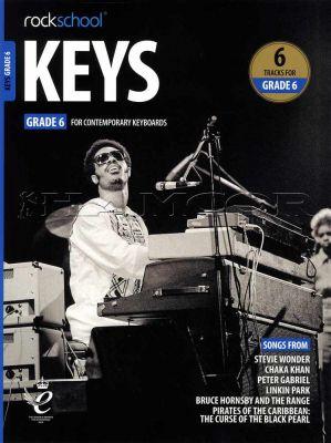Rockschool Keys Grade 6 Book/Audio