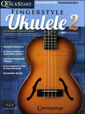 Quickstart Fingerstyle Ukulele 2 Book/Audio