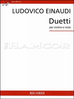 Ludovico Einaudi Duetti for Violin & Viola