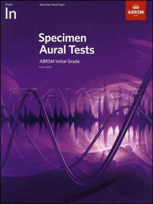 Specimen Aural Tests Initial Grade ABRSM