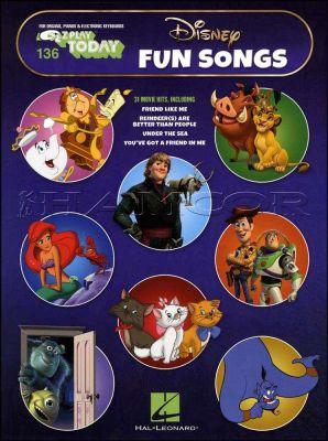 E-Z Play Today Disney Fun Songs for Piano