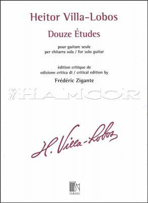 Heitor Villa-Lobos Douze Etudes for Solo Guitar