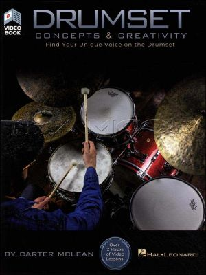 Drumset Concepts and Creativity Book/Video