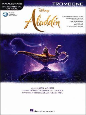 Disney Aladdin Instrumental Play-Along Trombone Book/Audio