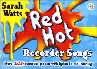 Red Hot Recorder Songs Book/CD