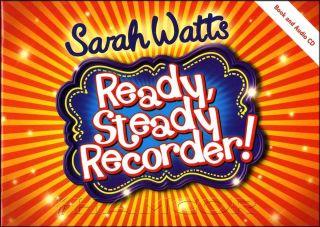 Ready Steady Recorder Book/CD