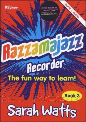 Razzamajazz Recorder 3 Book/Audio
