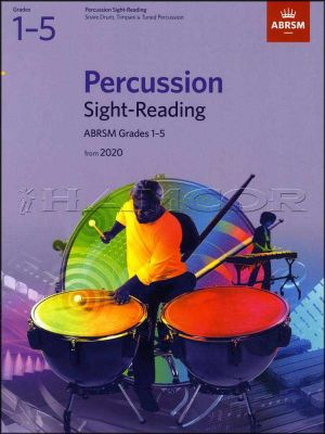 Percussion Sight-Reading Grade 1-5 from 2020 ABRSM