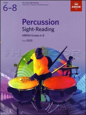 Percussion Sight-Reading Grade 6-8 from 2020 ABRSM