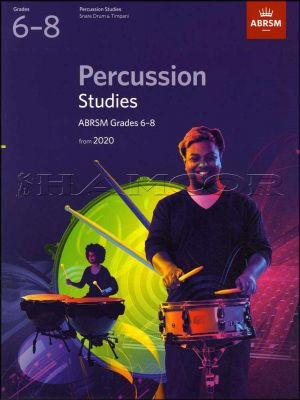 Percussion Studies Grade 6-8 from 2020 ABRSM