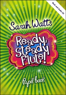 Ready Steady Flute Pupil Book/CD