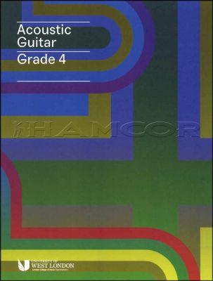 Acoustic Guitar Grade 4 LCM Book/Audio