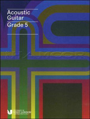 Acoustic Guitar Grade 5 LCM Book/Audio