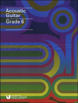 Acoustic Guitar Grade 6 LCM Book/Audio