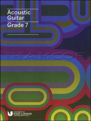 Acoustic Guitar Grade 7 LCM Book/Audio