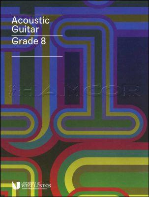 Acoustic Guitar Grade 8 LCM Book/Audio