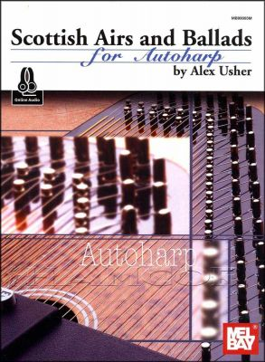 Scottish Airs and Ballads for Autoharp Book/Audio