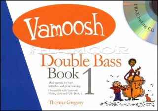 Vamoosh Double Bass 1 Music Book/CD