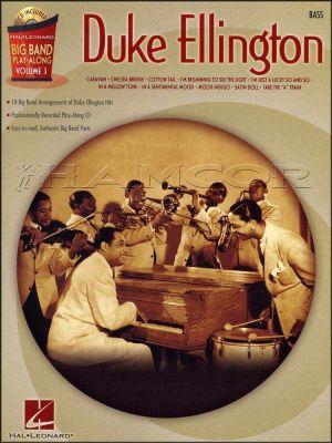 Duke Ellington Big Band Play Along Bass Book/CD