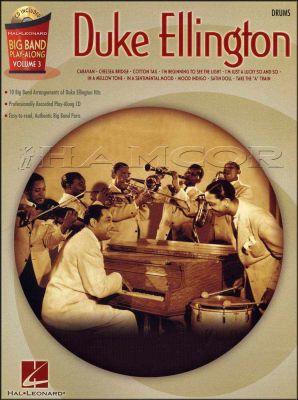 Duke Ellington Big Band Play Along Drums Book/CD