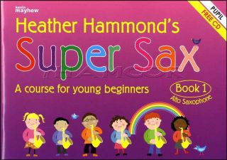 Super Sax Alto Pupil Book 1/CD