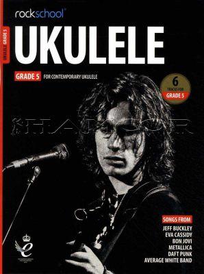 Rockschool Ukulele Grade 5 from 2020 Book/Audio