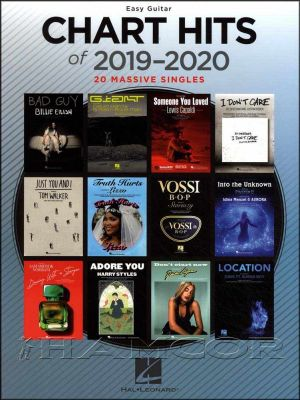 Chart Hits of 2019-2020 Easy Guitar