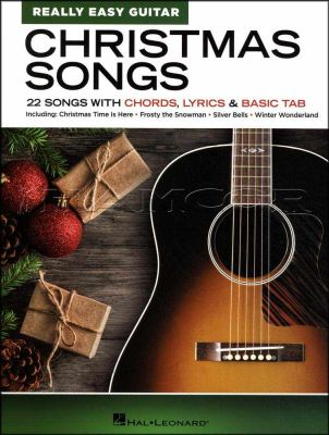 Christmas Songs for Really Easy Guitar