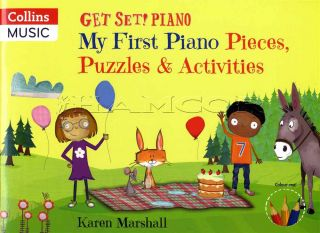 Get Set Piano My First Piano Pieces Puzzles & Activities
