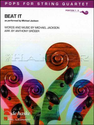 Beat It Pops for String Quartet