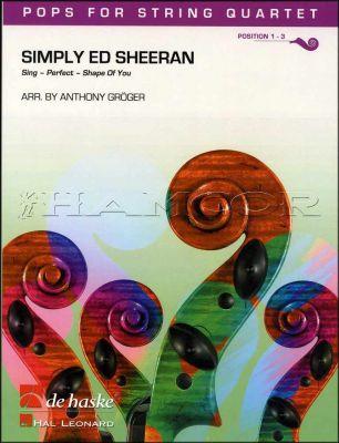 Simply Ed Sheeran Pops for String Quartet