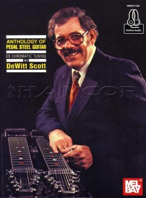 Anthology of Pedal Steel Guitar Book/Audio