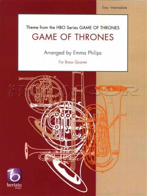 Game of Thrones Theme for Brass Quartet
