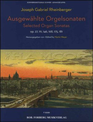 Ausgewahlte Orgelsonated Selected Organ Sonatas