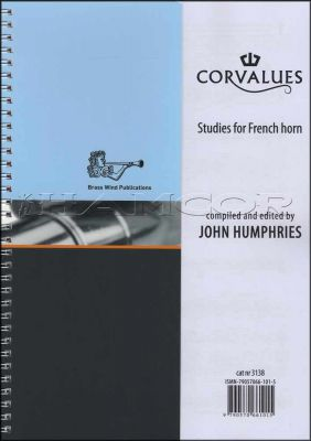 Corvalues Studies for French Horn