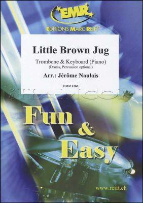 Little Brown Jug for Trombone & Keyboard