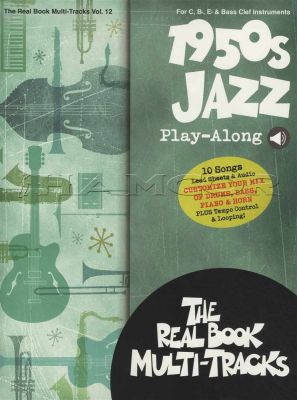 1950s Jazz Play-Along Real Book/Audio