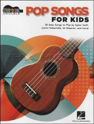 Pop Songs for Kids Sing & Strum Ukulele