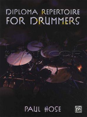 Diploma Repertoire for Drummers