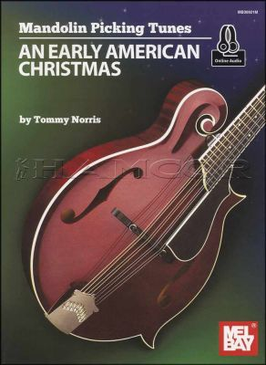 An Early American Christmas Mandolin Picking Tunes Book/Audio