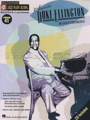 Classic Duke Ellington Jazz Play Along Book/CD