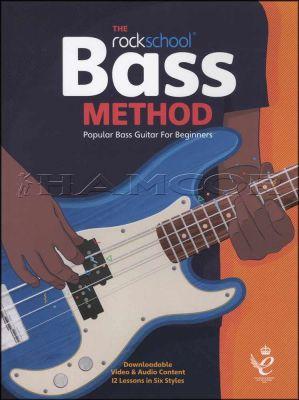 The Rockschool Bass Method Book/Audio/Video