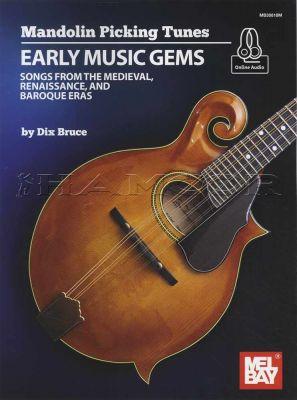 Mandolin Picking Tunes Early Music Gems Book/Audio