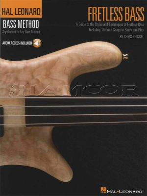 Fretless Bass Hal Leonard Method Book/Audio