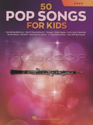 50 Pop Songs for Kids Oboe