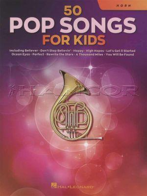 50 Pop Songs for Kids Horn